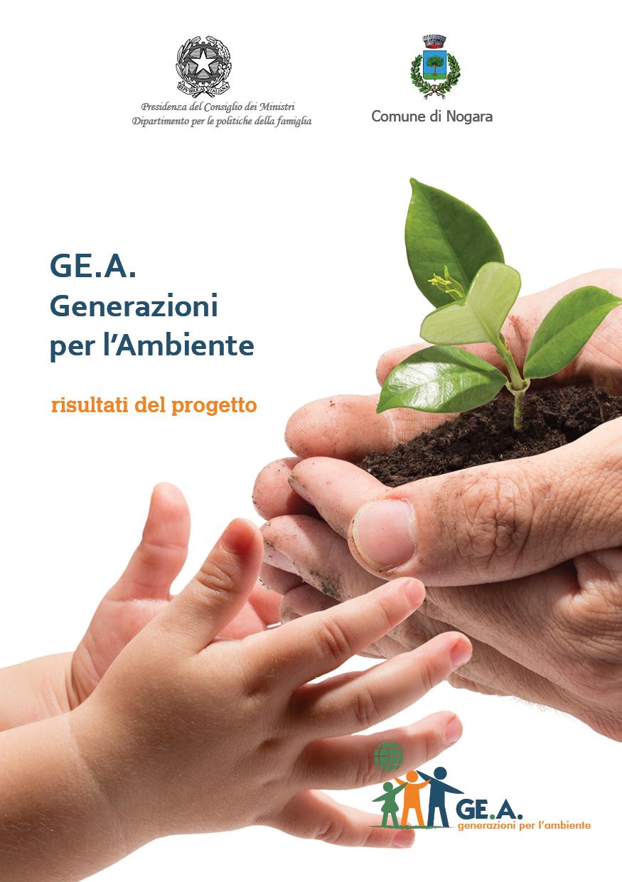 Scaricabile dal sito il manuale GEA con i risultati del progetto